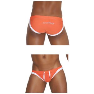 Micro Slip Duo Colors Negro Naranja