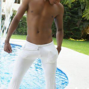 Pants Blanco Air